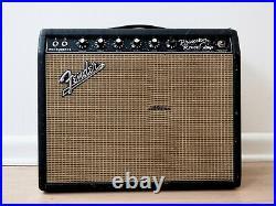 1967 Fender Princeton Reverb Vintage Blackface Tube Amp with Jensen C10Q