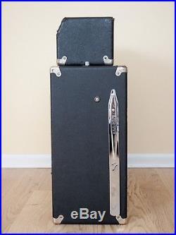 1967 Fender Showman Vintage Blackface Piggyback Tube Amp Tone Ring Cab JBL D140F