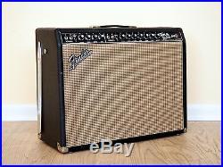 1967 Fender Twin Reverb Blackface Vintage Tube Amp 2x12 Jensen C12N, AB763