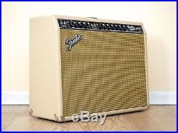 1967 Fender Twin Reverb Vintage Blackface Tube Amp Blonde Tolex, Jensen C12N