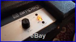 1968 Ampeg Jet J12 Tube Amp Weber Alnico Speaker Vintage Rolling Stones