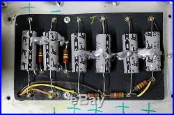 1969 Fender Bassman Amp Silverface Drip Edge Tube Head Amplifier Vintage