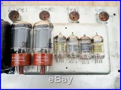 1969 Fender Bassman Drip Edge Silverface Vintage Tube Amp with 2x12 Cabinet