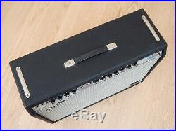 1969 Fender Twin Reverb Vintage 2x12 Tube Amp Silverface Drip Edge with JBL D120F