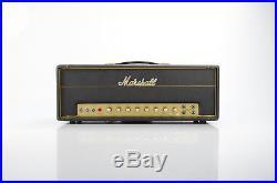 1969 Marshall 1987 Tremolo 50w Plexi Amplifier Head Vintage Tube Amp #32152