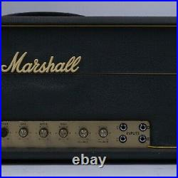1970 Marshall Super Lead 100 100W Guitar Tube Amplifier Head Vintage
