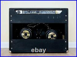 1973 Fender Twin Reverb Silverface Vintage 2x12 Tube Amp, Clean & Original