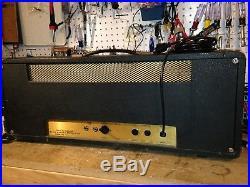 1973 Marshall 50 Watt JMP Lead Head Vintage Guitar Tube Amp EL34's Hand Wired