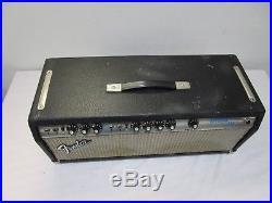 1975 Vintage Fender Bassman Ten 50 watt Tube Amp Head 2 X 6L6 - Cool
