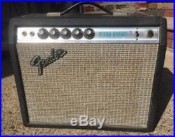 1975 Vintage Fender Vibro Champ Amp VIBRATO Tube Amp