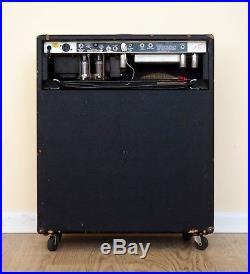 1979 Fender Bassman 10 Vintage Silverface Tube Guitar Amp 4x10 Jensen
