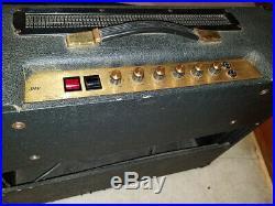 1979 Marshall 2104 2x12 JMP Combo Amp 50w TUBE Amplifier Checkered Cloth Vintage