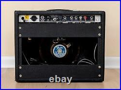 1980 Fender Princeton Reverb Vintage Silverface Tube Amp, Serviced & Retubed
