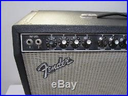1984 Vintage Rivera Era Fender Twin Reverb II 100 Watt Tube Combo Amp - Cool