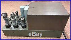 1 original Marantz model 5 EL-34 6CA7 vintage tube momo amp audio amplifier