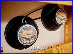 2018 Vintage Sound 40BR Rick Hayes Tweed Tube Amp Head & 2x10 Cab, Vibroverb