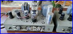 2 Vintage Thordarson Tube Amplifiers Amps 1940's T-31W10AX MAGUIRE INDUSTRIES