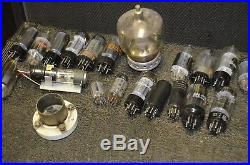 400+ Piece LOT of NOS Vtg 40s 50s Radio TV Amp Stereo Vacuum Tubes RCA+More
