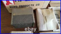 ACROSOUND STEREO 20 MONO TUBE AMPLIFIER KIT NEW SEALED VINTAGE from 50/60s