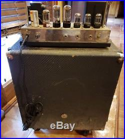 AMPEG B-15-N PORTAFLEX fliptop Vintage tube Amp Tested works