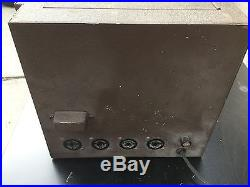 Airline Amplifier H4240 tube amp Montgomery Ward 170 watts PA system Vintage