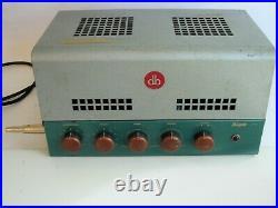 BOGEN J130 Vintage 6L6 Tube Mono Integrated/PA Amplifier Works well for Guitar