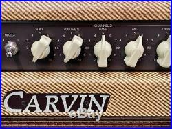 CARVIN BELAIR 212 VINTAGE TUBE 2X12 COMBO AMP With CELESTION G12 VINTAGE 30 SPKRS