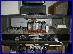 Carlsbro PA 100w 4 channel PA head vintage valve amplifier tube amp guitar bass