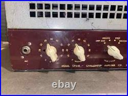 Challenger CH18 1940s 6V6 Vintage Tube Guitar Amplifier Serviced & Ready