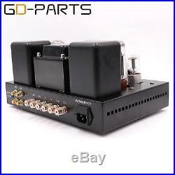 Class A Single End EL34 Tube Integrated Amplifier Hifi Stereo Vintage Tube AMP
