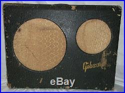 Completely Restored 1948 Gibson Ga-25 Vintage Tube Guitar Harp Amp Combo