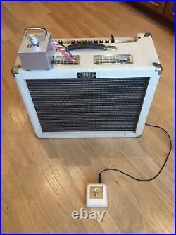 Crate Vintage Club 30 ALL Tube Combo Amp with power soak & footswitch