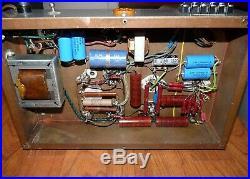Custom Vintage KT66 Acrosound Tube Amplifier Stereo Pair
