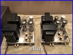 Dynaco Mark III Mono Block Tube Amps-pair-vintage Tube Gear-rare Amplifiers