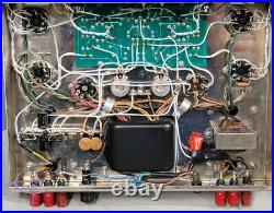 Dynaco Stereo 70 Series EL-34 Tube Amplifier Vintage ST70 Dynakit Silver EL34