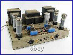 Dynakit (Dynaco) ST-70 Vintage Tube Audio Power Amplifier (modified, untested)