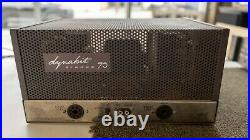 Dynakit Stereo ST 70 70A Tube Amplifier Amp 2 Channel 70W Vintage Dynaco