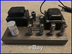 EICO HF-30 HF30 Vintage Amplifier EL84/6BQ5 Mono Tube Amp DIY Hi-Fi WORKS NICE