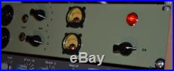 EMI ANALOGUE ADDICTS Tube Mic/Line Preamp 2 Dual Mono (vintage, british)