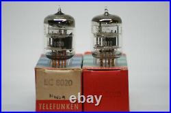 Ec8020 Telefunken Tube Valve Uhf Vhf Power Amplifier Vintage Stereo Pair Ec 8020