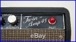 Echo Twin-Amp 45 Vintage Piggyback Tube Amplifier 2x12 Japan, Elk Miyuki Ind