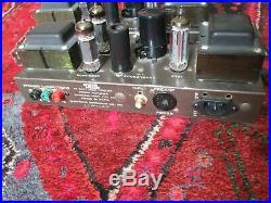 Eico HF-14 Mono Block Tube Amplifier Amp EL84 6BQ5 Vintage Rebuilt Restored