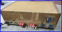 Eico HF 81 integrated tube amplifier EL84 US restored, upgraded vintage, stereo