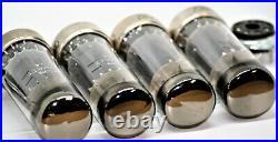 El34 tubes quad mullard tube nos amplifier metal base 6ca7 vintage matched kt77