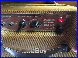FABULOUS RARE VINTAGE 1953 Fender Princeton Tweed Tube Amp WORKS GREAT