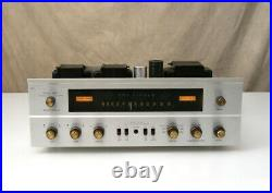 FISHER 500-C Receiver Vintage Stereo TUBE AMPLIFIER Classic Nice & Working