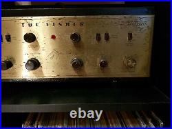 FISHER TUBE AMP X-100 Stereophonic Amplifier, Vintage, Fully Working