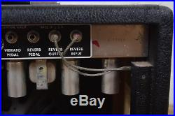 Fender 1965 vintage Princeton Reverb Amp tube guitar amp awesome! -used amplifier