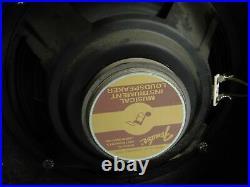 Fender Princeton 6G2 Vintage 1964 Tube Guitar Amplifier White Knob (very nice)