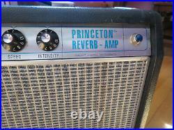 Fender Princeton Vintage 68 Reissue Reverb 10 Celestion Vintage 30 Tube Amp